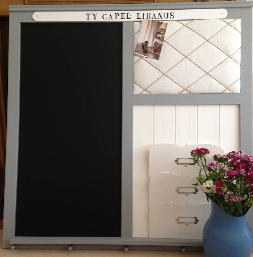Marvelous Memo Boards For Kitchen Wilson Family Noticeboard Made To Order Daisy  Hardcastle 19