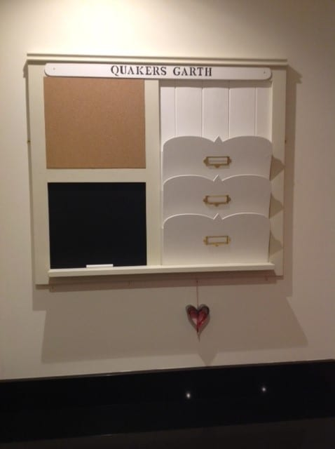 Family Notice Board Made In York Daisy Hardcastle