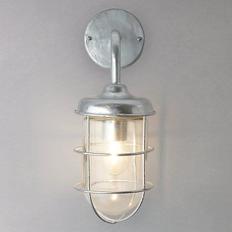 St Ives Harbour Galvanised Outdoor Wall Light - Daisy HardcastleDaisy Hardcastle