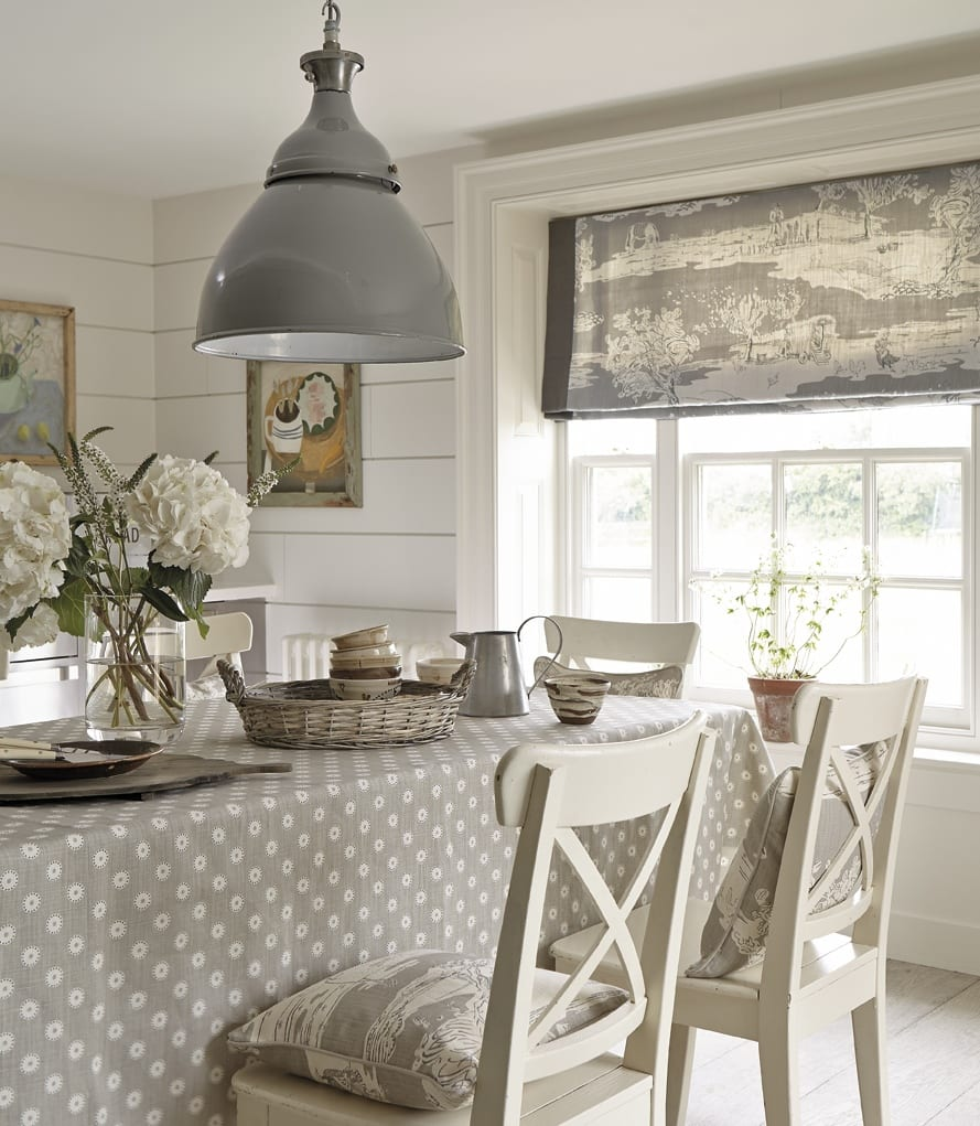 Grey Kitchen Roman Blind: Blinds And Safety Notice