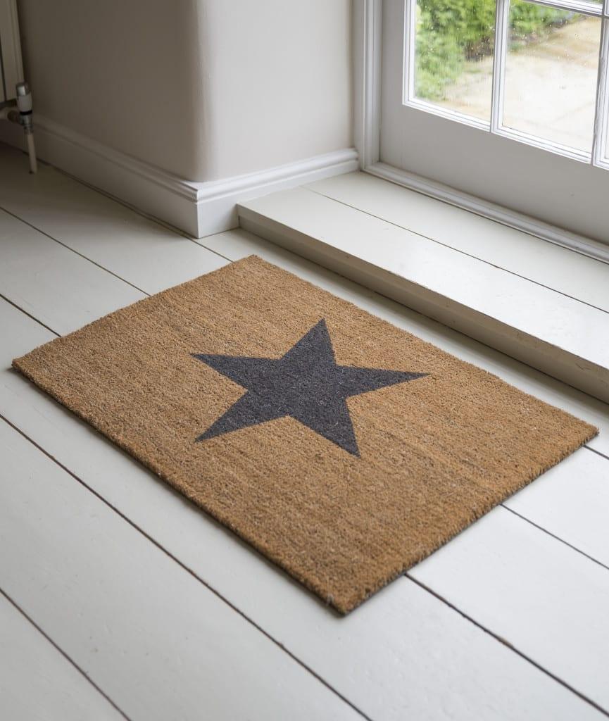 Garden trading large star door mat previous next