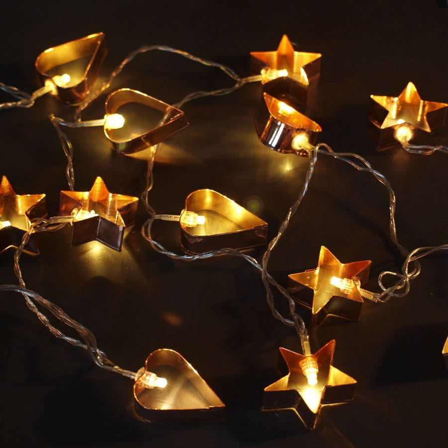 fun copper cookie cutter lights daisy hardcastle. Black Bedroom Furniture Sets. Home Design Ideas